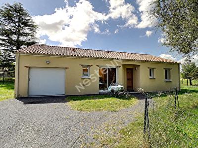 Maison de plain pied - La Remaudiere - 2011 - 3 chambres