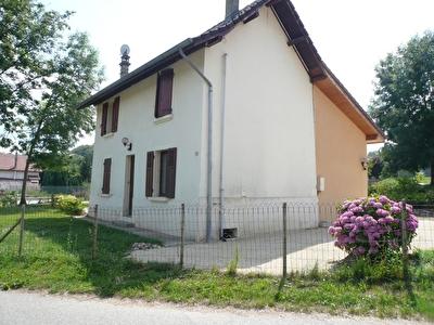 Maison La Bridoire 4 pieces avec jardin