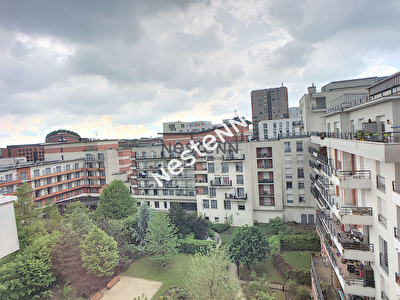 Appartement Evry 3 pieces 66.21 m2, 2 chambres.