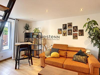 Appartement Duplex 2 pieces - La Ville du Bois - Centre ville - Coup de Coeur !