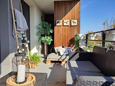 Appartement Ostwald 2 pieces 42 m2 avec terrasse 10m2