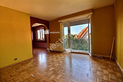 Appartement Strasbourg 3/4 pieces PROX COMMODITES