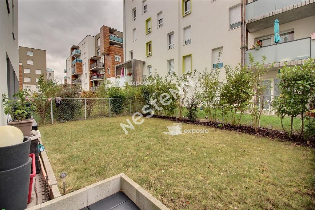 Appartement Lingolsheim 3 pièces JARDIN