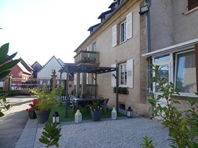 Maison de Ville  Krautergersheim 8 pieces CHARME DE L'ANCIEN