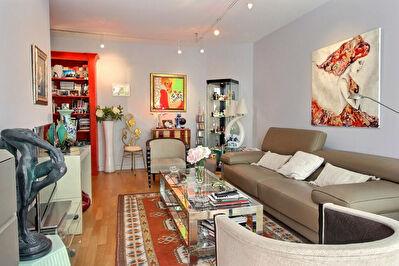LYON 6-Appartement T3 de 77,07 m2 Marechal Lyautey- Balcon -garage