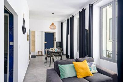 Appartement Lyon 2 pieces 40 m2-  Edgard Quinet. Entierement renove