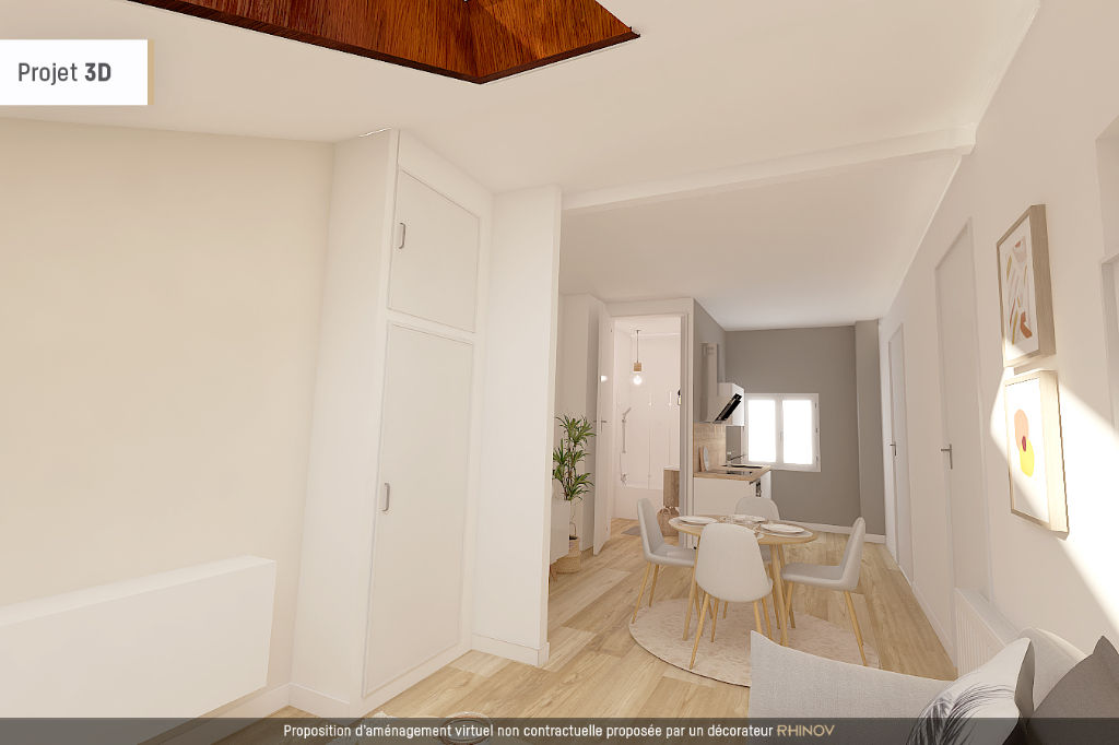 Appartement Lyon 1 pièce(s)