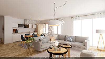 Appartement Lyon 6 -Bellecombe, Immeuble recent