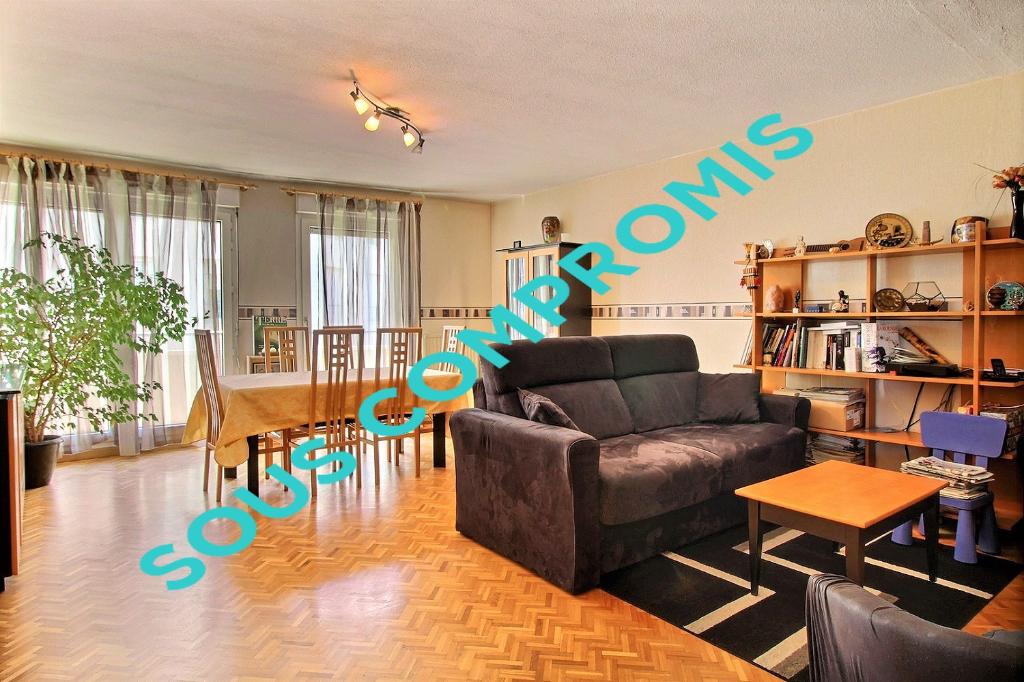 Appartement familial T5 de 110 m² garage double Monplaisir