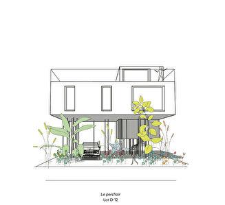 Maison d'architecte neuve 120 m2