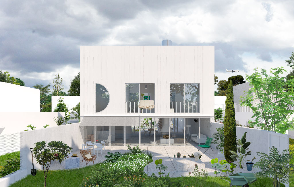 Maison d'architecte neuve 92 m2