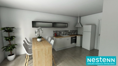 Appartement Decines Charpieu 3 pieces 58 m2