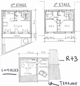 TERRAIN CONSTRUCTIBLE MONTREUIL - 75 m2
