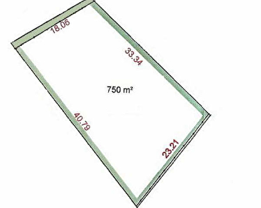TERRAIN A BATIR SOISY BOUY - 750 m2