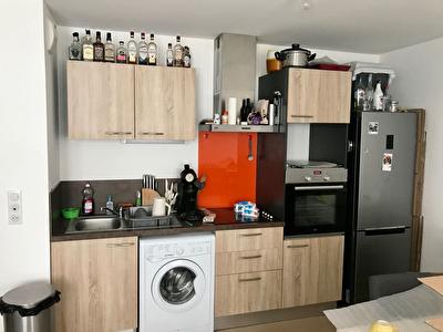Appartement T2 CV Rochefort 51 m2 terrasse
