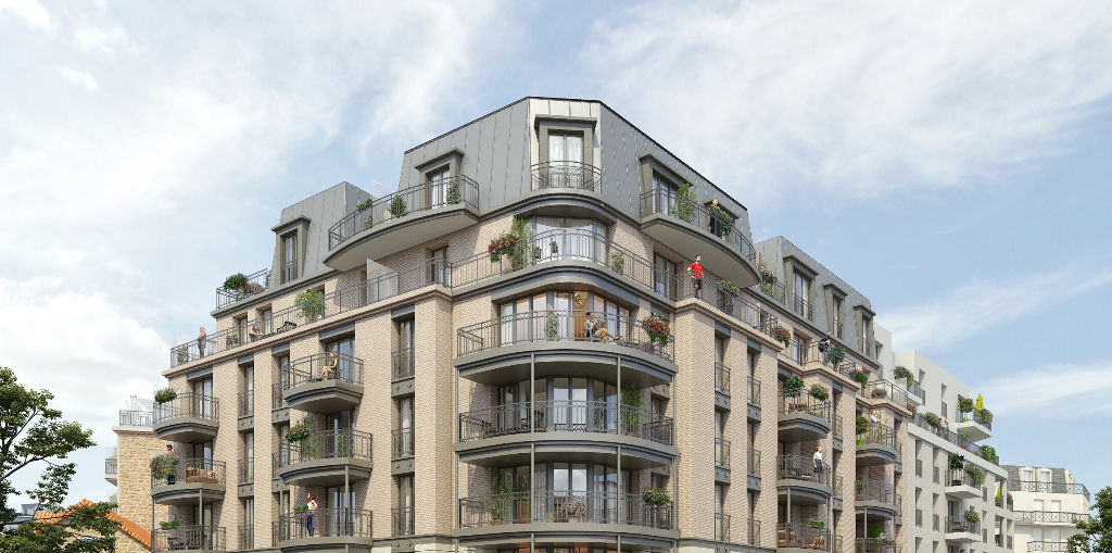 Appartement Rosny Sous Bois 2 pièce(s) 44.15 m2 CENTRE VILLE