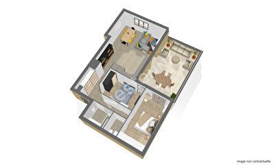 Appartement neuf Saint Maur 3 pieces 67.3 m2