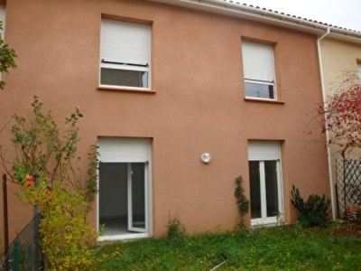 Villa Mitoyenne T4  84m2 jardin,terrasse,garage Cahors