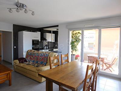 Pompertuzat 31450, Charmant T3 de 63.58m2 en dernier etage - terrasse - double garage en sous sol