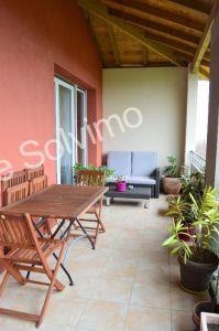 Pompertuzat  31450 appartement T3 67 m2 en dernier etage - terrasse - Double garage ferme - parking