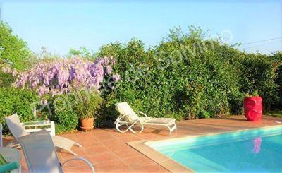 Lardenne Toulouse 31300 jolie Maison T5 117 m2  equipee basse consommation - Terrain  avec piscine - garage 50m2