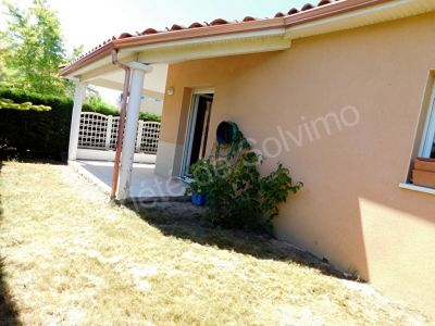 PECHABOU 31320 maison T3 de plain pied de 55 m2 au calme avec jardin et garage sans vis a vis