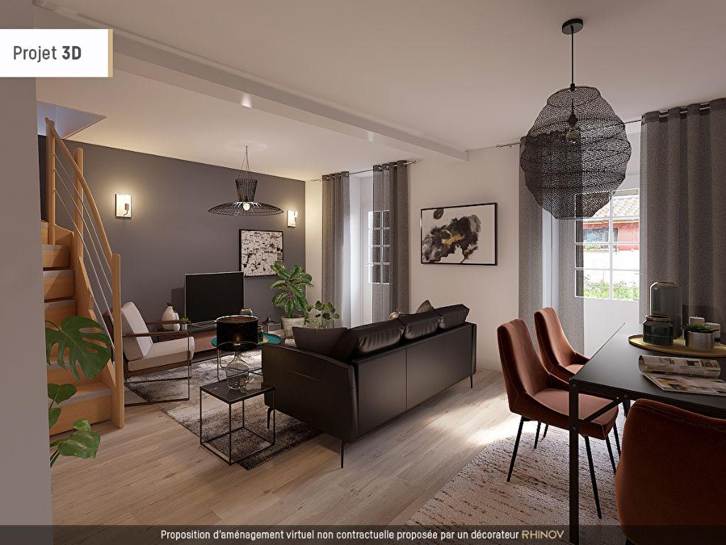 photos n°1 Valence  rue pietonne - Duplex rénové 3 pièces 83 m2 avec balcon