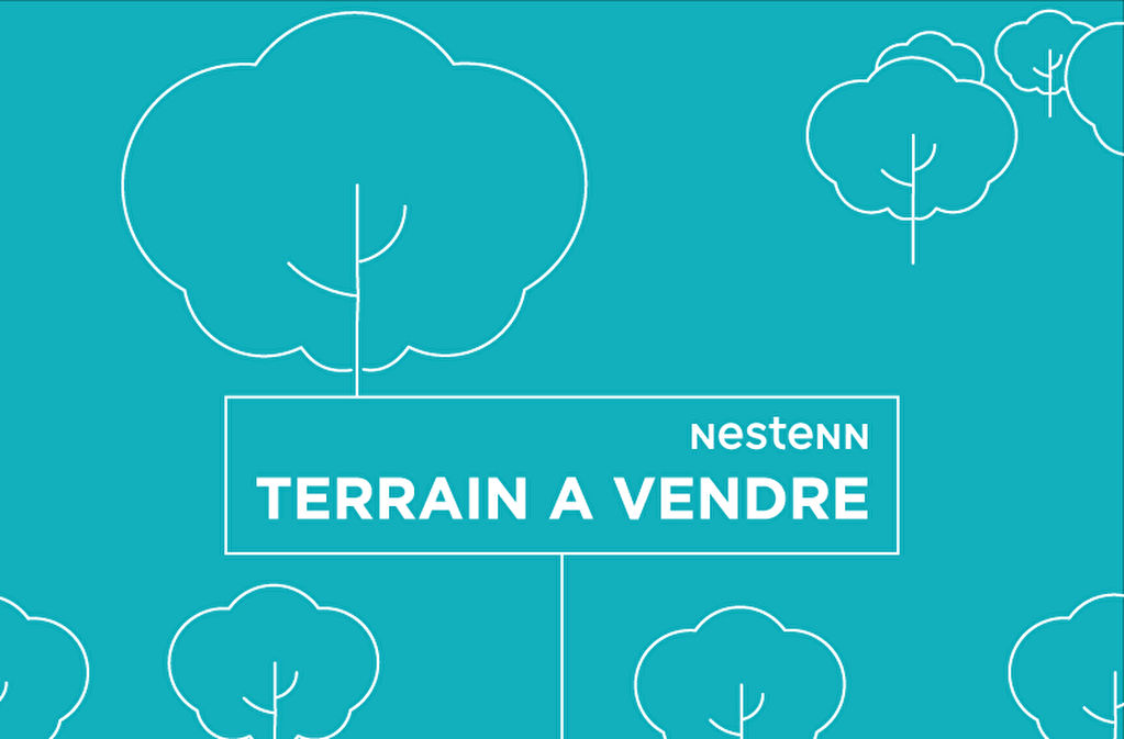 TOURNON - TERRAIN NON VIABILISE 485 M²