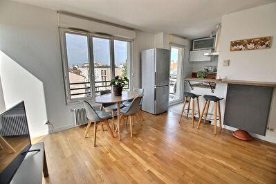 PORTES DE LYON - VENISSIEUX - LIMITE LYON 8° - T2 - GARAGE - PROCHE AXES A6-A7-ROCADE EST -Appartement Venissieux  2 pieces 41 m2