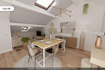 Appartement T3 Villeurbanne 69100 entre Charpennes et Republique, Charme et Potentiel