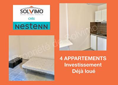 Immeuble  4 appartements POUR INVESTISSEUR
