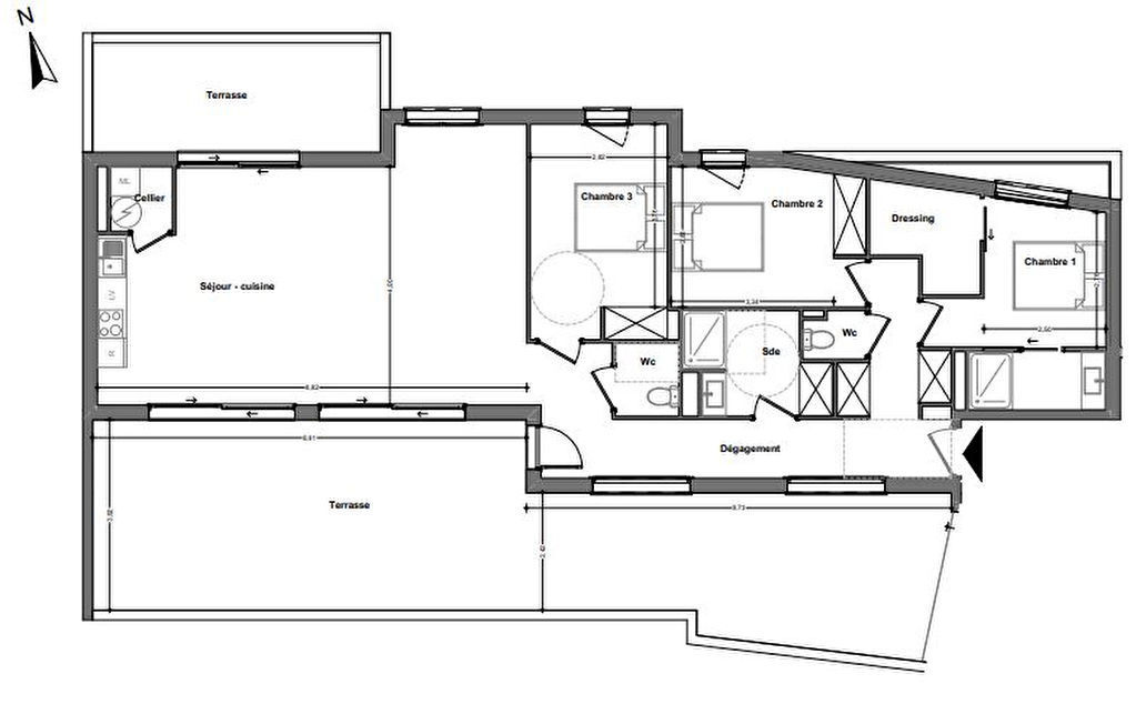 vente appartement de luxe 66000 perpignan