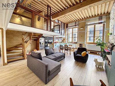 Appartement Canut type 4 - Lyon 4eme
