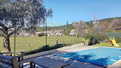 Villa T4 avec piscine en lotissement calme a Brignoles