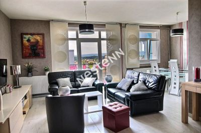 Appartement dernier etage Montigny Les Metz 3 chambres balcon parking