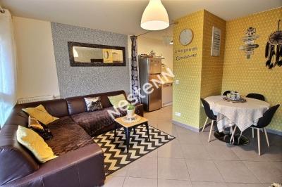 Appartement Woippy F3 - 2 chambres - terrasse - parking souterrain - sans travaux - copropriete 2012 BBC
