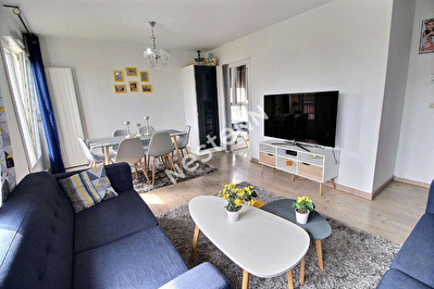Appartement F3 Woippy - 2 chambres - Garage ferme - Lumineux - Faibles charges