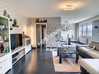 Appartement Metz-Devant-Les-Ponts - F4 - 2 Chambres - Grande piece de vie - Balcon