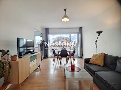 Appartement Metz  VALLIERES-lumineux- 2 balcons- stationnement