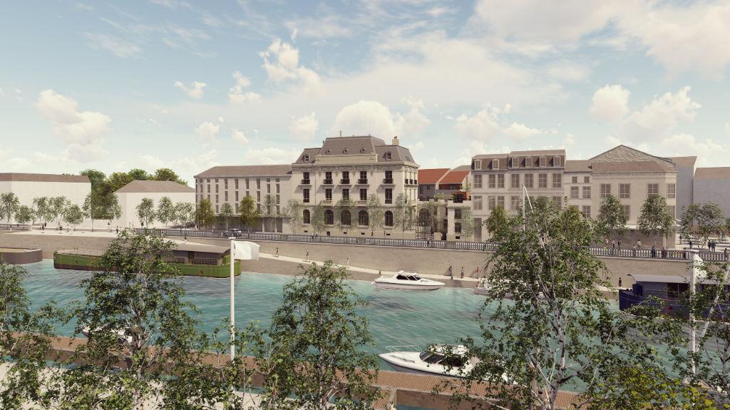Banque de France Verdun - Appartement 1.2 - 2 chambres balcon - jardin d'hiver