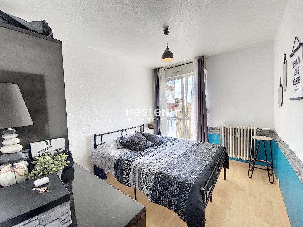 Appartement F5 - Metz Devant Les Ponts - Lumineux - trois chambres - Cave