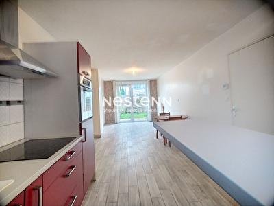 Bel appartement rez-de-jardin Metz 3 pieces 55.91 m2 avec parking