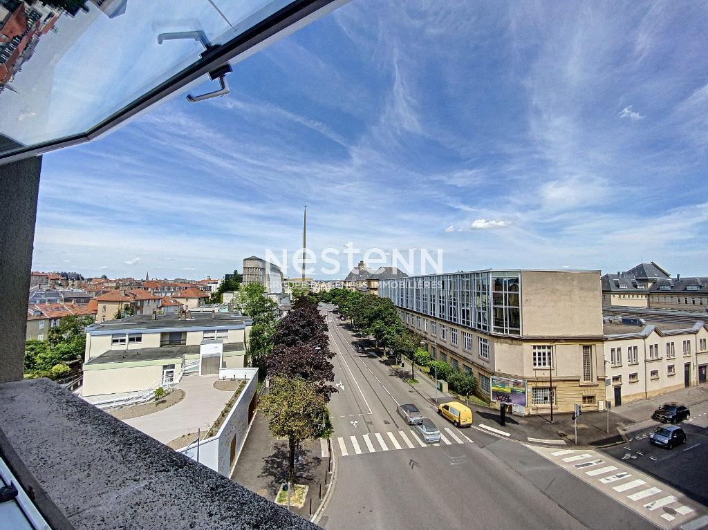 Appartement F3 Metz Nouvelle Ville - Lumineux - Parking privatif - Cave - 10 min gare de Metz