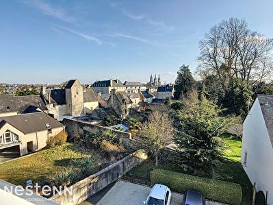 Rare Bayeux centre ville Appartement dernier etage 98m2 avec grande terrasse
