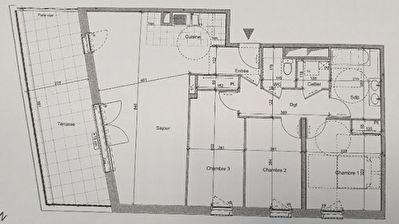 Appartement centre Mondeville 4 pieces 88.04 m2