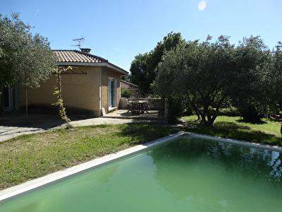 Villa plain-pied 86m2 avec jardin et piscine