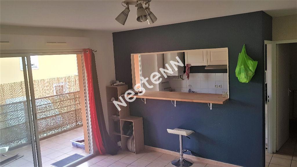 Appartement T2 51m² avec terrasse, garage et cave