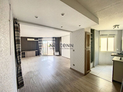 Appartement 70m2, 2 chambres balcon