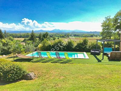 Maison de charme Mirepoix vue sur Pyrenees 2777 m2