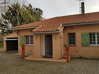Maison T2 de plain pied avec garage attenant